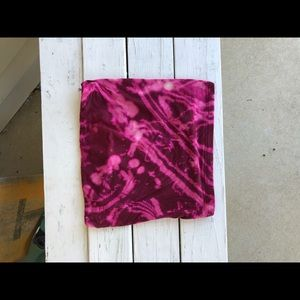 Bleach dyed tube top
